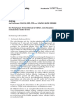 Bundestagserklärung CDU-SPD-FDP-Grüne