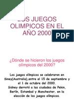 olimpiadas 2000