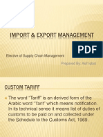 Import & Export Management
