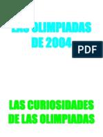 Las Olimpiadas 2004