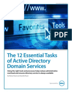 Dell 12 Essential Tasks Active Directory Domain Services