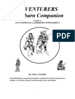 Laserburn Adventurers Companion