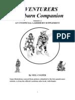 Laserburn Adventurers Companion