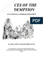 Forces of the Redemption Unofficial Laserburn Supplement
