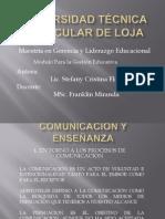 comunicacinyenseanza-110316111413-phpapp01