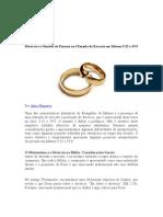 112577540 Divorcio e o Sentido de Porneia Na Clausula de Excecao Em Mateus 5
