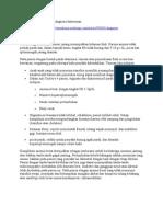 Diagnosis Thalasemia Minor