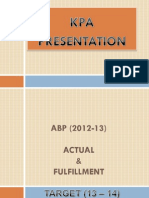KPA_Presentation_ABP 2012-13 & TARGET 13 - 14.pdf
