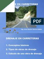 Drenaje en Carreteras