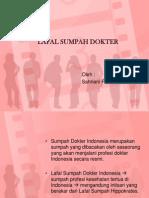 LAFAL SUMPAH DOKTER