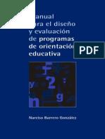 Manual Para El DiseA_-o y EvaluaciA3n de - Barrero GonzA!Lez, Narciso(Author)