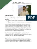 Resume & Narrative