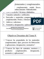 Tema 8 (Cementos y Morteros) Materiales ETSA