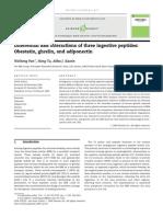 Obestatina,Grelina e Adiponectina