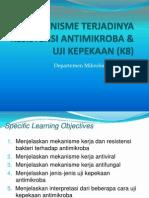 Bbs2 Mb-k8-Mekanisme Terjadinya Resistensi Antimikroba & Uji Kepekaan