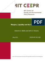 Margins Liquidity and the Cost of Hedging CEEPR WP2012-005