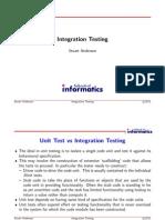 10 Integration