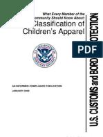 Clasification of Kids Wear
