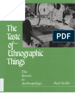 Paul Stoller-The Taste of Ethnographic Things_ the Senses in Anthropology-University of Pennsylvania Press (1989)