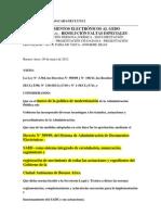 RESOLUCIÓN Nº 176-12 INCORPORACION DOCUMENTOS ELECTRONICOS