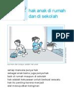3. Hak Anak Di Rumah Dan Di Sekolah