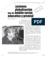 Implicaciones Globalizacion Ambito Educativo MarcoRaulMejia
