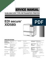 XID5xxi Service Manual