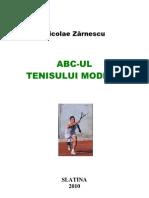 Nicolae Zarnescu - ABC-ul Tenisului Modern