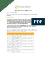 Datastream Options Volatility Surfaces