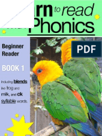 Learn to Read With Phonics - Book 1