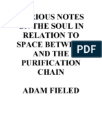 VARIOUS NOTES ON THE SOUL IN RELATION TO SPACE BETWEEN AND THE PURIFICATION CHAIN