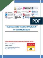 Morrison Marketing Strategy