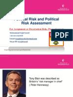 Political Risk Assessment