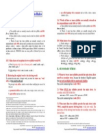 LLCE Anglais Word Stress Main Rules