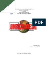 ADMINISTRACIÓN AGROPECUARIA (ANÁLISIS-NORIS CASTILLO)