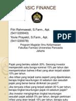 Presentasi Basic Finance