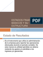 Estados financieros básicos y su estructura
