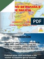 O RELEVO DE ESPAÑA E DE GALICIA