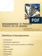 Bancassurance  in  Pakistan M A Ahmed.ppt