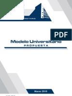 Propuesta Del Modelo Universitario PDF