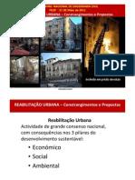 Reabilitação Urbana - Fernando Santo