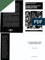 Cavarozzi Marcelo - El Capitalismo Politico Tardio Y Su Crisis en a L