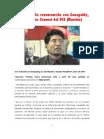Entrevista Al Camarada Ganapathy