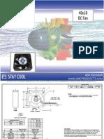 JMC 40x10 DC Fan