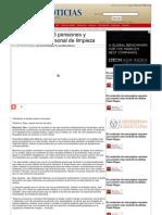 22-05-2013 Pendientes 30 a 35 pensiones y jubilaciones de personal de limpieza