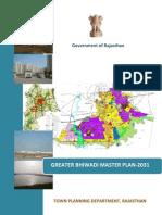 Greater Bhiwadi Master Plan 2031