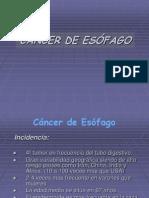 5. CÁNCER DE ESÓFAGO