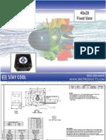 JMC 40x28 Fixed Vane Fan