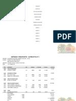 Presupuesto Perfil - Pescs - Irrigacion Pampamarca Aucara