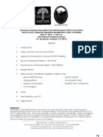 SOBO Meeting, April 17, 2013 Agenda Packet